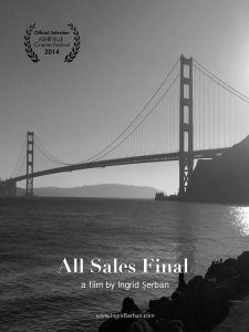 Ingrid Serban All Sales Final Short Film black and white silent