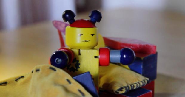 Humphrey Robot Makes a Wish, an animated film by Ingrid Serban